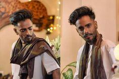Hair & Makeup Artist Elton J Fernandez sporting Indian Ethnic