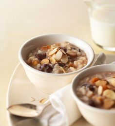 Almond Breakfast Risotto with Dried Fruit from the Better Homes and Gardens Must-Have Recipes App