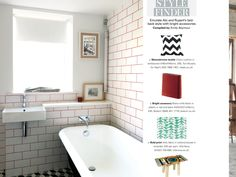 Coloured feature grouting
