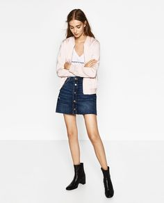 Image 1 of FLOWING BOMBER JACKET from Zara