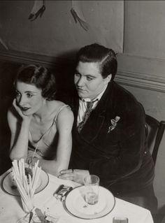 Brassaï, Lesbian Couple at Le Monocle, 1932