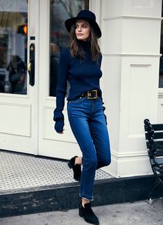 Coordinate your hat and shoes for an effortless put-together look. Let DailyDressMe help you find the perfect outfit for whatever the weather!