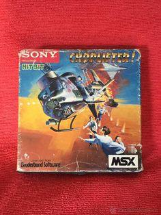 MSX - CHOPLIFTER - Cartucho MSX en CAJA - SONY HIT BIT