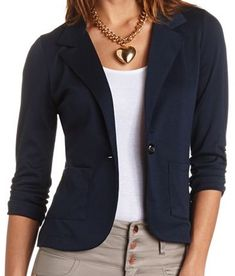 Short Navy Jacket