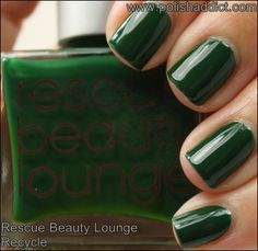 Rescue Beauty Lounge Recycle  #ReBeLs #NOTD #nailpolish