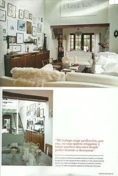 Revista Living Arg.  pag 6 de 13   Prensa Carolina Aubele www.carolinaaubele.com Para conocer las actividades de su centro de moda e imagen www.maisonaubele.com