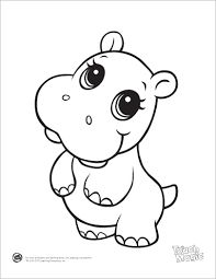 cute coloring pages of animals # 78