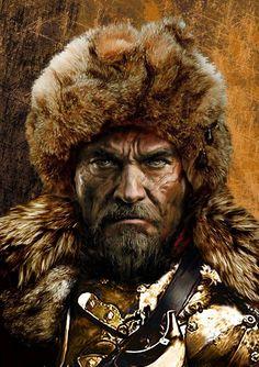 Polish Tattoos, Chivalry, Russian Fashion, Mountain Man, Military History, Larp, Renaissance, Knight, Outlander