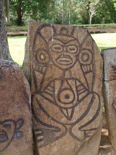 Petroglyph 1  Caguana Ceremonial Park - Puerto Rico