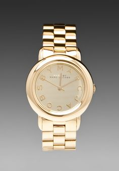 MARC BY MARC JACOBS Marci Watch in Gold