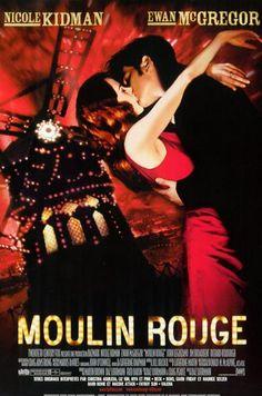 affiche du film Moulin Rouge (2001)