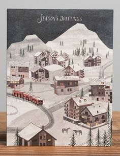 Winter Village | Red Cap Cards