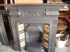 Unbelievable Tips: Fireplace Bedroom Mantles black fireplace salons.Old Fireplace Stones fireplace mirror.Fireplace Tile Home Depot. Fireplace Bookcase, Country Fireplace, Wooden Fireplace, Cabin Fireplace, Fireplace Seating, Candles In Fireplace, Shiplap Fireplace, Fireplace Mirror, Victorian Fireplace