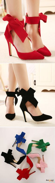 US$32.69 + Free shipping. Size: 5~10. Color: Black, Red, Green, Pink. Fall in love with fashion and elegant style! Women Fashion High Heel Suede Artificial Slip On Pointed Toe Thin Heel Pumps Shoes.