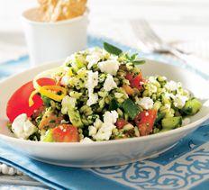 Greek Barley Salad with Feta > Cooking Club of America