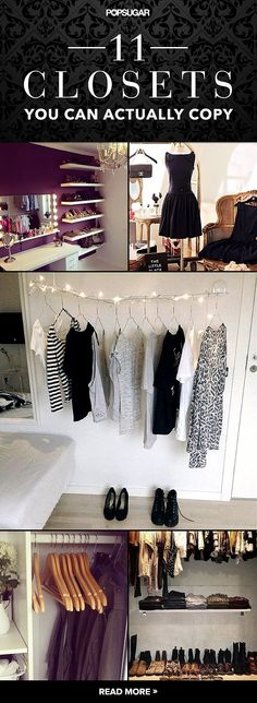 No detail is too impossible to re-create in these 11 closets you can actually copy.