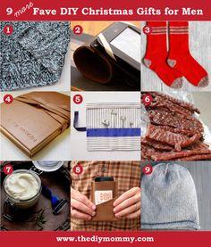 DIY Handmade Christmas Present Ideas for Men by The DIY Mommy