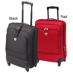 @Overstock - Carry on luggage is great for personal or business travel  Ultra lightweight ABS/polycarbonate shells offer luggage high-impact protection  Tote bag's unique expansion offers 25-percent additional packing space when neededhttp://www.overstock.com/Luggage-Bags/International-Traveller-Ion-22-inch-Carry-on-Luggage/3711740/product.html?CID=214117 $97.99