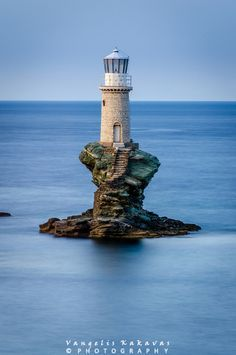 Lighthouse - Greece by Vangelis Kakavas - Photo 159102215 - 500px