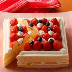 いちごのデコレーションケーキ バースデーケーキ #cake #birthday #誕生日ケーキ #バースデーケーキ