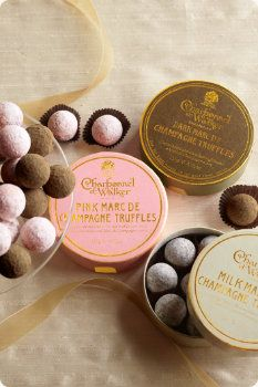 Gourmet Marc de Champagne Chocolate truffles from Soft Surroundings boutique