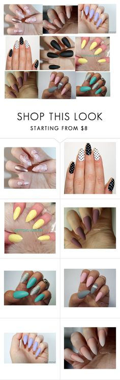 """Nail's"" by bakovazofia ❤ liked on Polyvore"