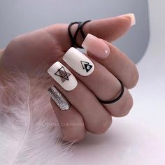 90+ Beautiful Square Nails Design Ideas You'll Want To Copy Immediately – Page 7 – Cocopipi