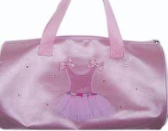 Retail - Nutcracker Ballet Gifts - Ballerina Dress Duffle Bag, $15.00 (http://www.nutcrackerballetgifts.com/ballerina-dress-duffle-bag/)