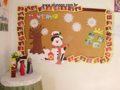 24 Ideias de Mural para Inverno - Educação Infantil - Aluno On Advent Calendar, Holiday Decor, Home Decor, Early Education, Winter Time, Ideas, Sea Ice, Animaux, Noel