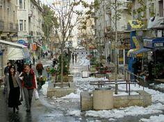 Ben Yehuda Street, Jerusalem, Israel