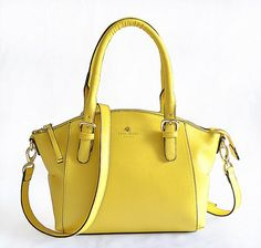 Kate Spade Charlotte Street Small Sloan Yellow Cheap Kate Spade Bags, Kate Spade Outlet, Cheap Michael Kors Bags, Kate Spade Satchel, Kate Spade Handbags, New York Fashion, Milan Fashion, Runway Fashion, Fashion Trends