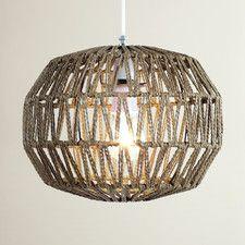 The Lighting & Interiors Group Macca 1 Light Globe Pendant Light Wicker Pendant Light, Globe Pendant Light, Lighting Uk, Pendant Lighting, Ceiling Pendant, Ceiling Lights, Glass Pendant Shades, Rectangular Lamp Shades, Globe Lights