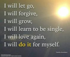 I will do it for myself