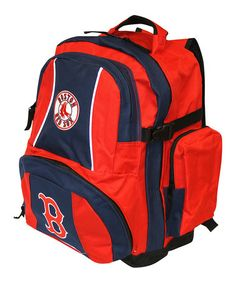 Look at this #zulilyfind! Boston Red Sox Navy Trooper Deluxe Backpack by Concept One #zulilyfinds