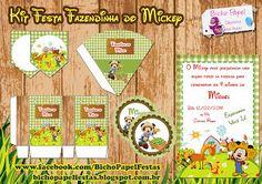 Casinha de Criança: Kit Festa Fazendinha do Mickey