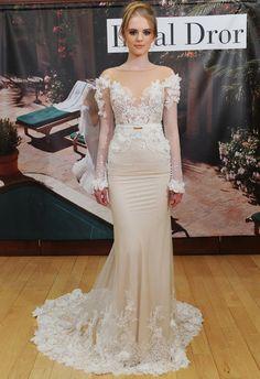 Wedding dress by Inbal Dror | Hottest Dresses from New York Bridal Fashion Week Spring 2015