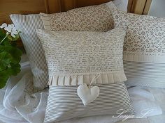 Love these pillows!! They will be easy to make some to match my sofa.