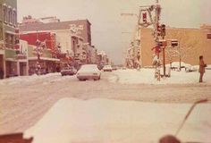 Downtown Terre Haute at Christmas.
