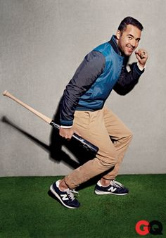 The baseball Jacket: Andre Ethier: Profiles: GQ *Get paid for your sports passion at www.sportsblog.com