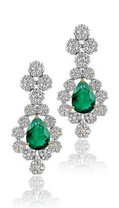 #emerald #earring #liali #jewellery #dubai