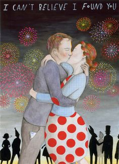I Can't Believe I Found You by SophieBlackall on Etsy, $45.00