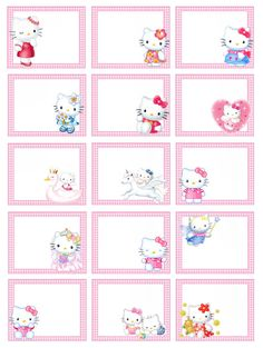 1 million+ Stunning Free Images to Use Anywhere Hello Kitty Fotos, Hello Kitty Themes, Hello Kitty Cake, Printable Planner, Planner Stickers, Hello Kitty Invitation Card, School Labels, Hello Kitty Pictures, Free To Use Images