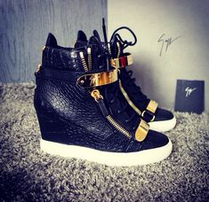 Giuseppe Zanotti wedge sneaker