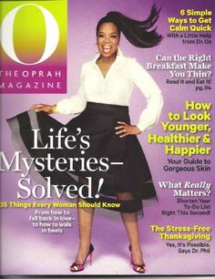 O The Oprah Magazine November 2013 ** Check out this great product.