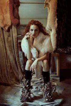 Amazing fashion photography by Moscow based photographers Andrey Yakovlev & Lili Aleeva.