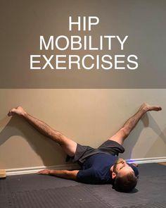 Hip Mobility Exercises, Pelvic Floor Exercises, Flexibility Workout, Pull Up Workout, Hip Workout, Workout Videos, Jiu Jitsu Training, Gymnastics Workout, Yoga For Men