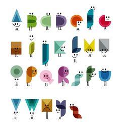 Alphabet   Pierre 3                                                 by Pierre-Emmanuel Lyet