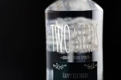Personalised vodka from Dom and Geri Personalized Candles, Personalised Gifts, Vodka, Goodies, Happy Birthday, Personalized Gifts, Sweet Like Candy, Happy Brithday, Custom Candles