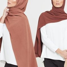 The latest additions to our hijab range; our Linen Blend Hijabs are non-sheer and non-slip. Now available in the USA & Canada. Nude Honey Linen Blend Hijab Brown Linen Blend Hijab www.inayah.co