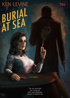 Cool Art: 'Burial At Sea' by Ástor Alexander #BioshockInfinite